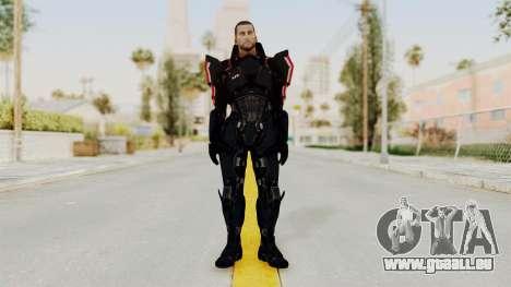 Mass Effect 3 Shepard N7 Destroyer Armor pour GTA San Andreas deuxième écran