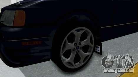 Ford Sierra Turnier 4x4 Saphirre Cosworth pour GTA San Andreas vue arrière
