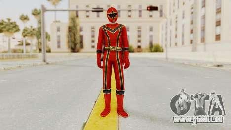 Power Rangers Mystic Force - Red pour GTA San Andreas deuxième écran
