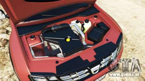 GTA 5 Dacia Duster 2014 vorne rechts Seitenansicht
