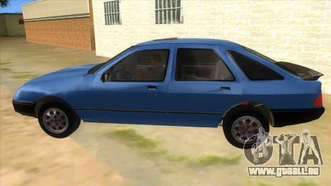 Ford Sierra 1.6 GL Updated für GTA San Andreas linke Ansicht