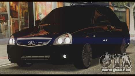 Lada Priora Sedan pour GTA San Andreas