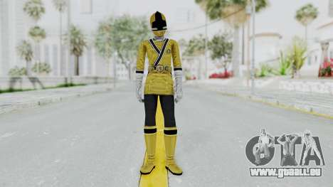 Power Rangers Samurai - Yellow für GTA San Andreas zweiten Screenshot