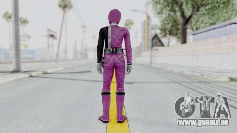 Power Rangers S.P.D - Pink für GTA San Andreas dritten Screenshot