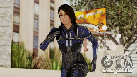 Mass Effect 3 Ashley Williams Ashes DLC Armor pour GTA San Andreas