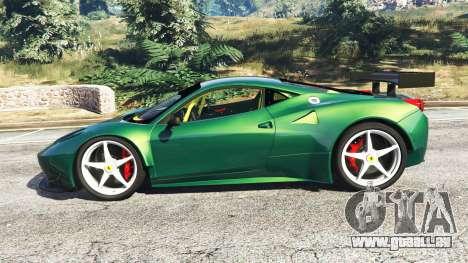Ferrari 458 Italia GT2 für GTA 5