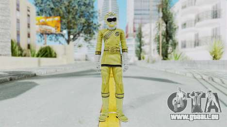 Power Rangers Wild Force - Yellow pour GTA San Andreas deuxième écran