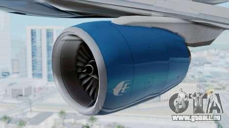 Boeing 777-2H6ER Malaysia Airlines für GTA San Andreas rechten Ansicht