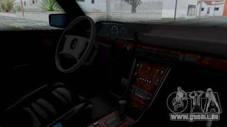 Mercedes-Benz 560SEL 1987 US-spec pour GTA San Andreas vue de droite