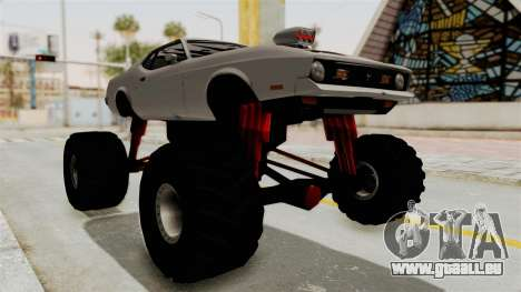 Ford Mustang 1971 Monster Truck pour GTA San Andreas vue de droite