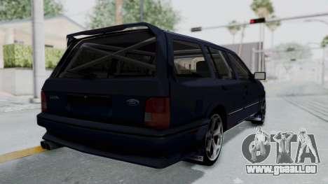 Ford Sierra Turnier 4x4 Saphirre Cosworth pour GTA San Andreas laissé vue