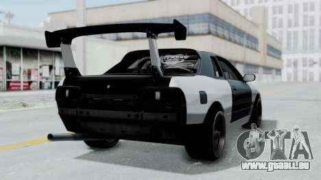 Nissan Skyline R32 Drift (H.A.R) pour GTA San Andreas laissé vue