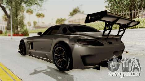 Mercedes-Benz SLS AMG GT3 PJ4 pour GTA San Andreas laissé vue
