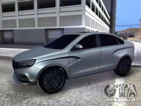 Lada Vesta HD (beta) für GTA San Andreas