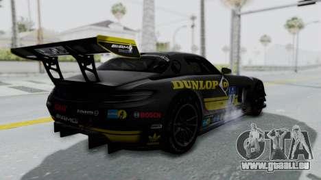 Mercedes-Benz SLS AMG GT3 PJ7 für GTA San Andreas Räder