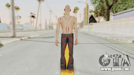 Scary BERUK pour GTA San Andreas troisième écran