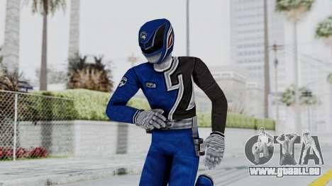 Power Rangers S.P.D - Blue für GTA San Andreas