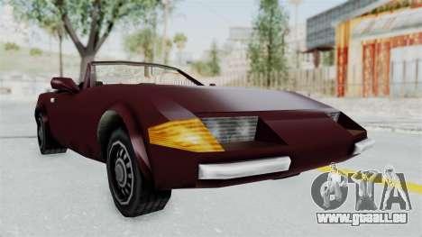 GTA VC Stinger pour GTA San Andreas vue de droite