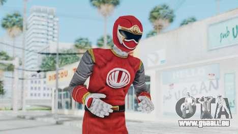Power Rangers Ninja Storm - Red pour GTA San Andreas