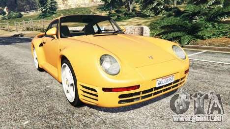 Porsche 959 1987 pour GTA 5