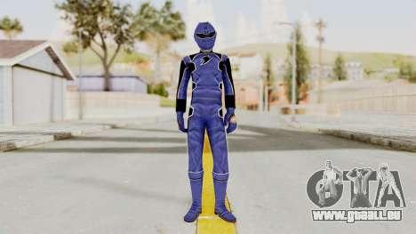 Power Rangers Jungle Fury - Blue pour GTA San Andreas deuxième écran