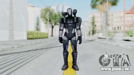 Marvel Future Fight - War Machine pour GTA San Andreas deuxième écran