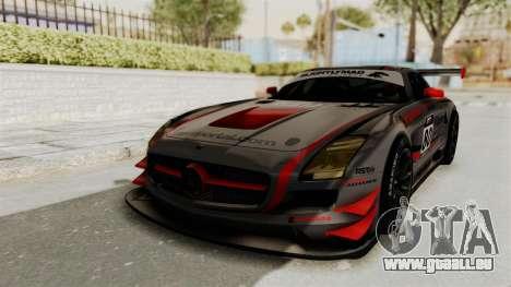 Mercedes-Benz SLS AMG GT3 PJ4 pour GTA San Andreas moteur