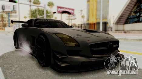 Mercedes-Benz SLS AMG GT3 PJ4 pour GTA San Andreas vue de droite