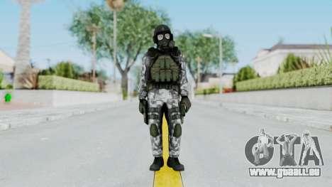 Black Mesa - HECU Marine v2 pour GTA San Andreas deuxième écran