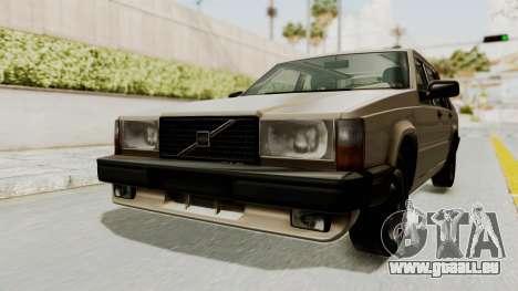 Volvo 740 für GTA San Andreas rechten Ansicht