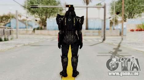 Mass Effect 3 Shepard N7 Destroyer Armor pour GTA San Andreas troisième écran