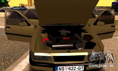 Opel Vectra A für GTA San Andreas Rückansicht