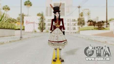 Alice LBL Madness Returns pour GTA San Andreas deuxième écran