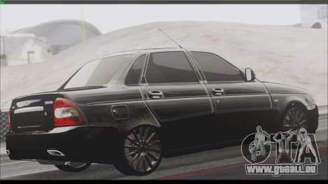 Lada Priora Sedan für GTA San Andreas Rückansicht