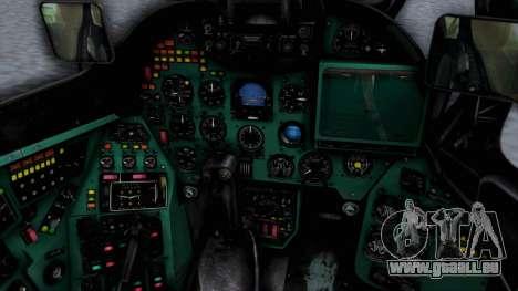 Mi-24V Polish Air Force 727 pour GTA San Andreas vue de droite