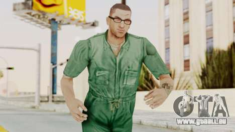 Manhunt 2 - Danny Prison Outfit pour GTA San Andreas