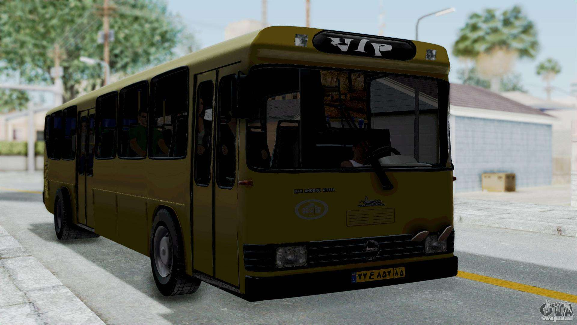 Grace Quality Cars >> Mercedes-Benz Old Iranian Bus pour GTA San Andreas