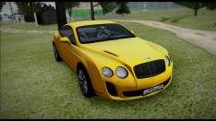 Bentley Continental pour GTA San Andreas