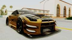 Nissan GT-R Fake Taxi