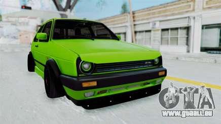 Volkswagen Golf Mk2 R36 für GTA San Andreas