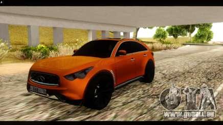 Infiniti FX37 für GTA San Andreas