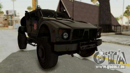 Croatian Oshkosh M-ATV Desert für GTA San Andreas