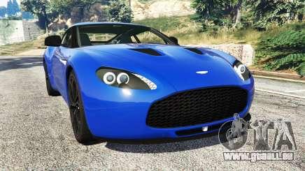 Aston Martin V12 Zagato pour GTA 5
