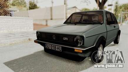 Volkswagen Golf Mk1 GTI für GTA San Andreas