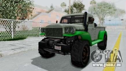 GTA 5 Bravado Duneloader Cleaner Worn IVF pour GTA San Andreas