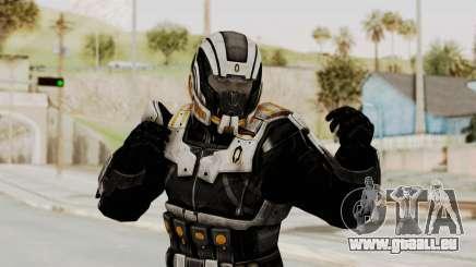 Mass Effect 3 Shepard Ajax Armor with Helmet pour GTA San Andreas
