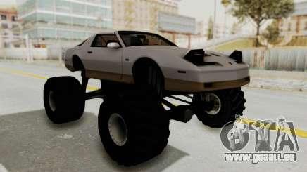 Pontiac Firebird Trans Am Monster Truck 1982 für GTA San Andreas