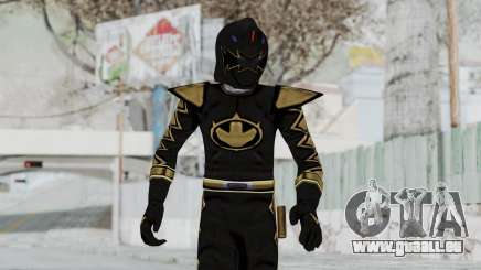 Power Rangers Dino Thunder - Black pour GTA San Andreas