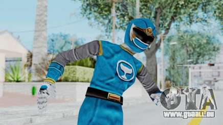 Power Rangers Ninja Storm - Blue pour GTA San Andreas