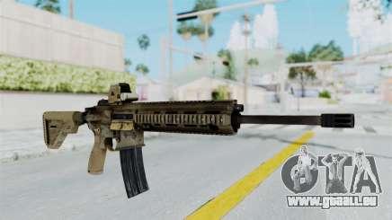 HK416A5 Assault Rifle für GTA San Andreas